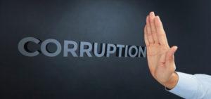 stop corruzione